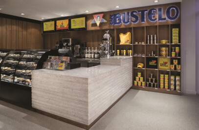 Cafe Bustelo Gansevoort Hotel South