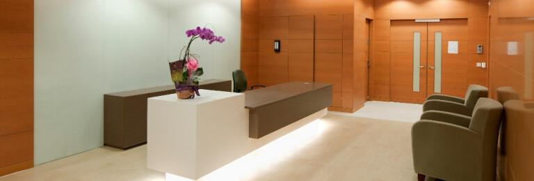 Reception Area, Private Ward