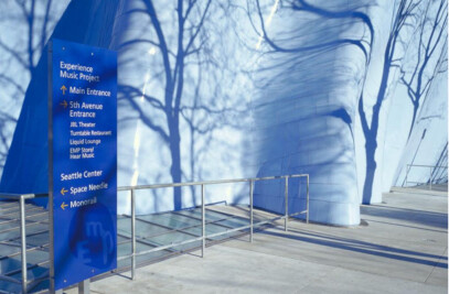 Experience Music Project Signage