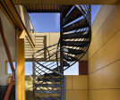 Spiral Stair Leading to Level 3 Terrace