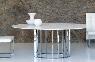 Marble table personalisation