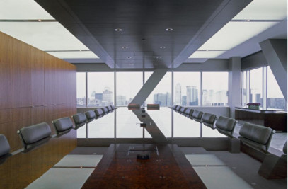 Law Firm Interiors - 50th Floor Conference Room