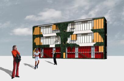 Town centre 2030 Nachod
