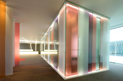 Optima Glazed Partitions Specified for Burges Salmon HQ