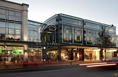 Wall St Shopping Centre, Dunedin, New Zealand