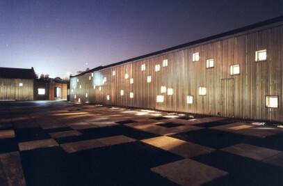 Furniture showroom and warehouse