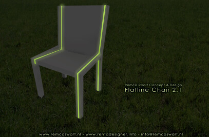 Flatline chair 2.1 outdoor/garden version