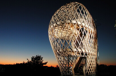 kupla - the bubble, Korkeasaari Zoo lookout tower
