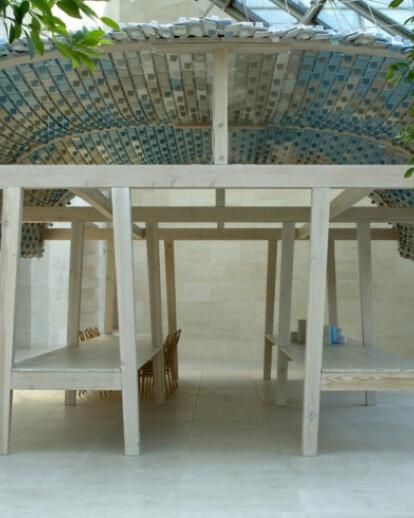 Textile Pavilion : the restaurant 2006