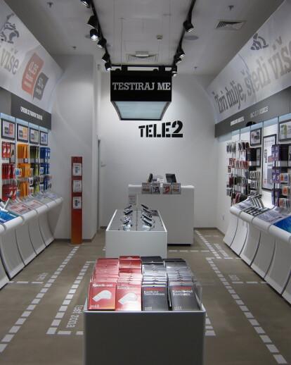 Tele2 new retail concept