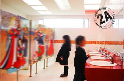 Remodelacion de Baños de Pre escolar Liceo Cambridge