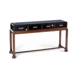Black Painted Console Table