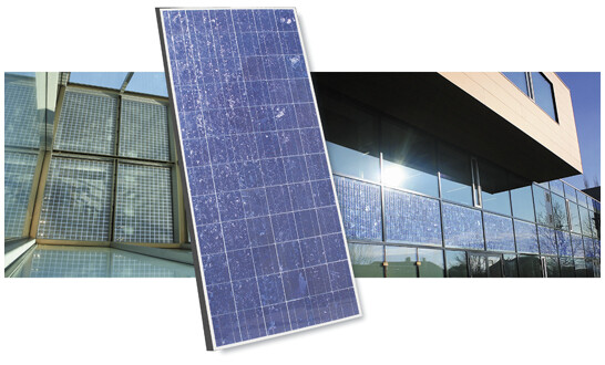 Laminated safety glass ISO module