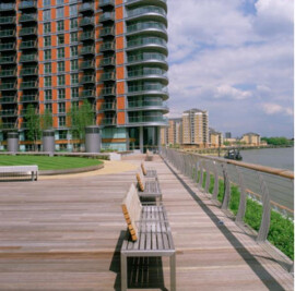 Roof Garden – New Providence Wharf