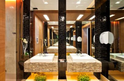 Banheiro Público Unisex - Casa Cor 2011