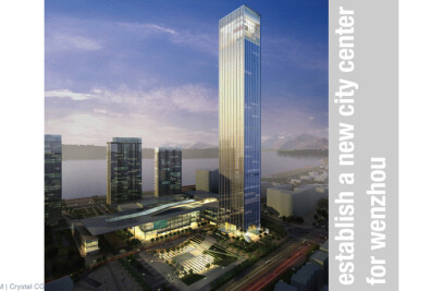 Wenzhou Lucheng Plaza - Landmark Tower