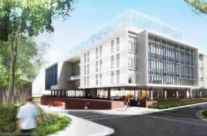 University of North Carolina Genome Science Laboratory Building