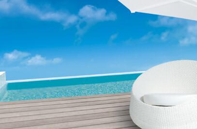 Bergamo Lounge white