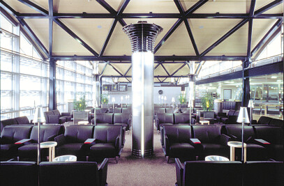 Swissair Lounge