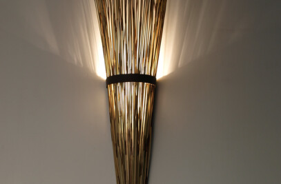 Reed Sconce