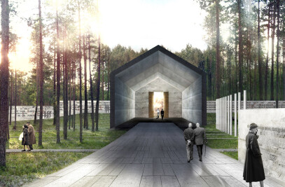 Competition Entry For Cemetery In Järva Common