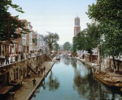Oudegracht, around 1900