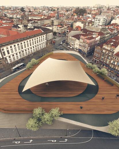 praça de lisboa l public space architecture