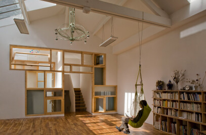 A loft in Paris
