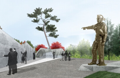 WE WERE THERE – The Canadian Fallen Firefighters Memorial