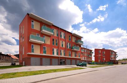 Housing Estate at Szczęść Boże