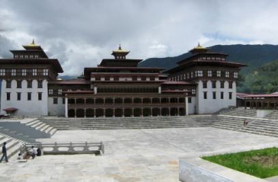 The National Ceremonail Plaza (Tsechu Plaza)
