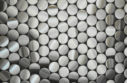 Penny Stainless Steel Tile