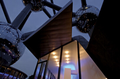 Atomium - Renovation and interior design