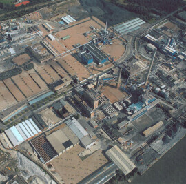 Umicore - Masterplanning of an industrial site &am