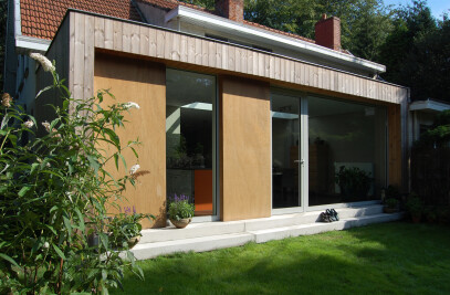 Bio-ecological reconversion of a house