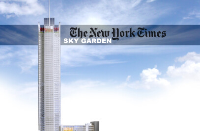 NY Times Building Sky Garden