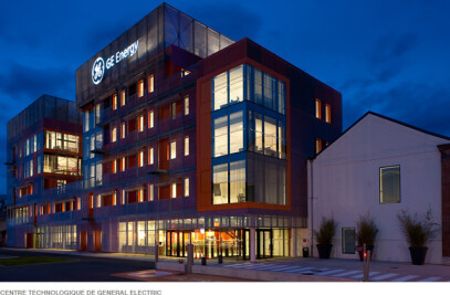 TECHNOLOGY CENTRE OF GENERAL ELECTRIC, in Belfort