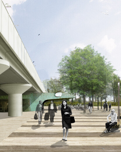 Public transport node Voorburg