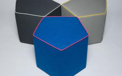 Pentagon Stool