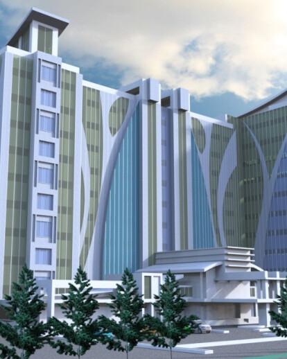 Konsep Design Renovation Kartika Chandara Hotel at Jakarta
