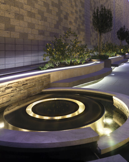 Disney Cancer Center Garden