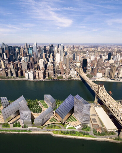 Cornells planned NYC Tech Campus