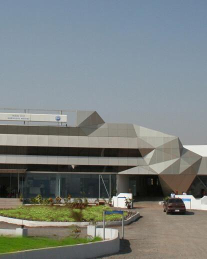 Tata Motors showroom and service station