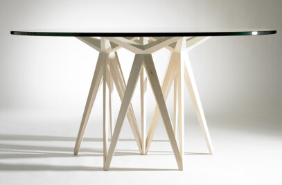 Prism Round Dining Table