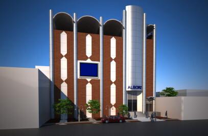 Alborz Commercial Center of Ghazvin