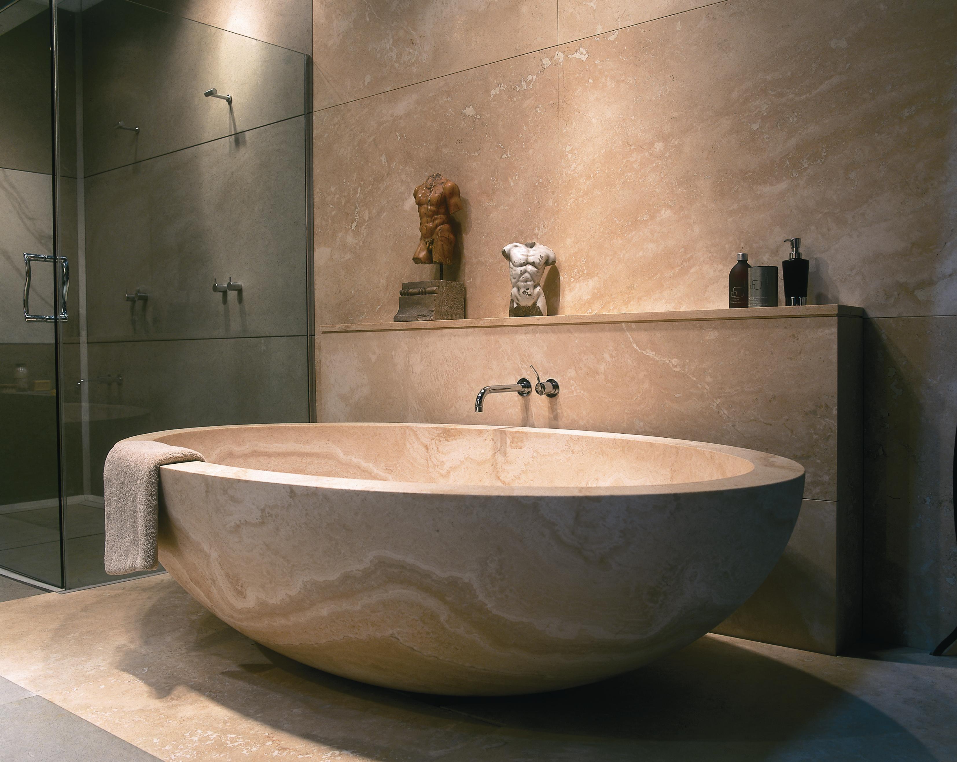 The Dream Bathroom In Stone