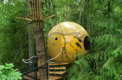 Free Spirit Spheres Tree House