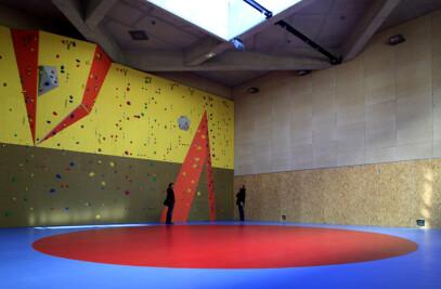 Gymnastics building