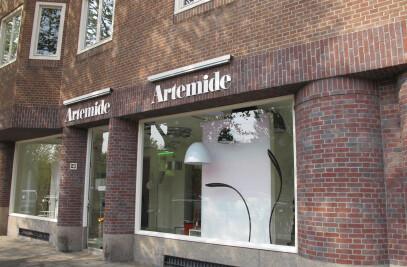 Artemide showroom