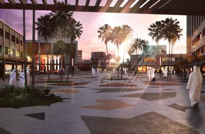 Desert City Framework Masterplan